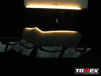 usuwanie wgnieceń na masce samochodu - po naprawie